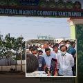 Telangana CM KCR Visits Vantimamidi Market Yard