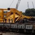 TDP Chief Chandrababu responds on crane accident at Hindusthan Ship Yard in Vizag