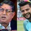 There is no issue with Srinivasan says Suresh Raina