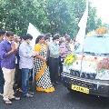 Zee TV Telugu donates ten ambulances to AP Arogya Sri Trust