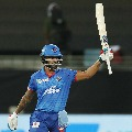 Dhawan registered consecutive century in IPL