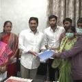 Divya Tejaswini family members met CM Jagan