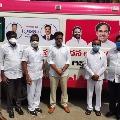 KTR inaugurates new ambulances