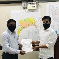 Revanth Reddy met Krisha river board chairman
