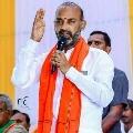 Bandi Sanjay criticizes minister Puvvada Ajay
