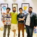 Life Is Beautiful actors reunion at Vijaay Devarakonda home