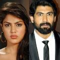 Rana and Rakul Preet  Singh names in Rhea Chakraborthys call list