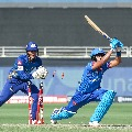 Mumbai Indians against Delhi Capitals