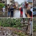 Cyclone Nisarga makes landfall close to Mumbai