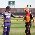 Sunrisers Hyderabad opt to bowling first after won the toss against KKR