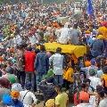 Farmers Angry on BJP Leaders