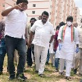 CLP leader Bhattai Vikramarka questions Talasani on double bedroom houses