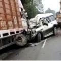 Nine dies of accident in Uttarpradesh