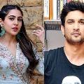 Samuel reveals Sushant singh and Sara Ali Khan were in love