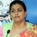 Chandrababu is behind Antarvedi incident says Roja