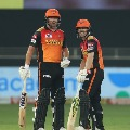 Sunrisers posts a huge total after Bairstow heroics