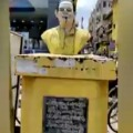 Nara Lokesh furious over demolition of NTR statue in Tenali