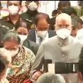 President Ramnath Kovind visits Tirumala shrine