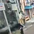 Womens Narrow Escape Recorded in CCTV