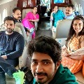 Varun Tej Niharika Konidela off to Udaipur along with their family