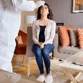 Pranitha shares corona testing video