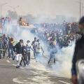 Tensions erupted in Singhu border once again
