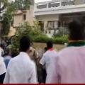 BJP cadre attacks on MLA Challa Dharma Reddy house