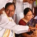KCR Went to Varanasi with Family
