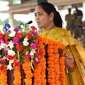 AP Home Minister Mekathoti Sucharitha responds on Vizag tonsure case