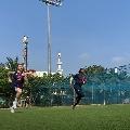 England Cricket team begins practice