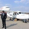 Man who built plane on terrace got success