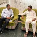 AP BJP General Secretary Vishnuvardhan Reddy met VV Lakshminarayana