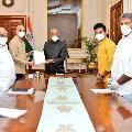 TDP MPs met President Ramnath Kovind