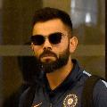 Kohli returns to India