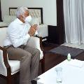 Vijayasai Reddy says he conveys his greetings to governor
