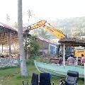 GVMC Officials demolish Go Karting Arena