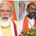 Modi telephones Bandi Sanjay