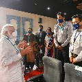 Chandrababu thanked PM Narendra Modi for his visit of Bharat Biotech in Hyderabad genome valley