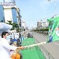 Jagan Inaugurates 1008 Ambulences