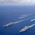 USA sends two aircraft carriers to South China Sea