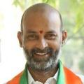 KCR wont make KTR as CM says Bandi Sanjay