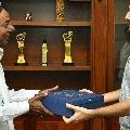 Hero Nitin invites CM KCR