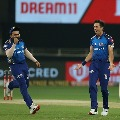 Delhi Capitals posted normal score against Mumbai Indians in IPL summit clash