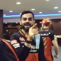 Game Day RCB v KKR Dressing Room Cam
