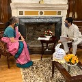 AP minister Buggana met union finance minister Nirmala Sitharaman