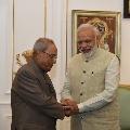 PM Modi condolences the demise of former president of India Pranab Mukherjee