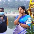 Kalvakuntla Kavitha tweets on Varanasi visit