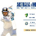 India Win in Boxing Day Test