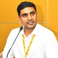 Nara Lokesh escape an accident at Sidhapuram
