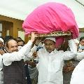 CM KCR sends divine Chadar to Ajmer Durgah